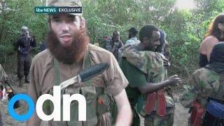 Death of British jihadi Thomas Evans captured on camera
