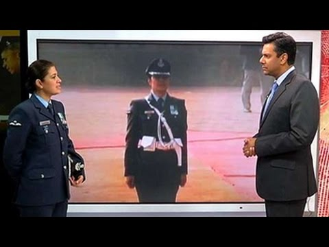IAF Wing Commander Pooja Thakur on saluting Obama