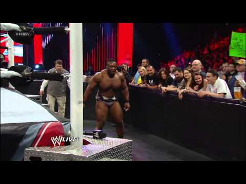 Jack Swagger vs. Big E Langston -  WWE APP Vote Match: Raw, May 13, 2013