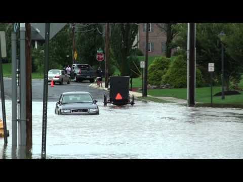 The Aftermath of Hurricane Irene in Kutztown, PA
