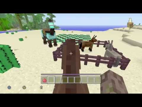 TUTORIAL: CÓMO DOMAR CABALLOS MINECRAFT XBOX 360 ONE Y PS3 4