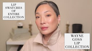 Wayne Goss Cosmetics - The Lip Collection with Lip Swatches