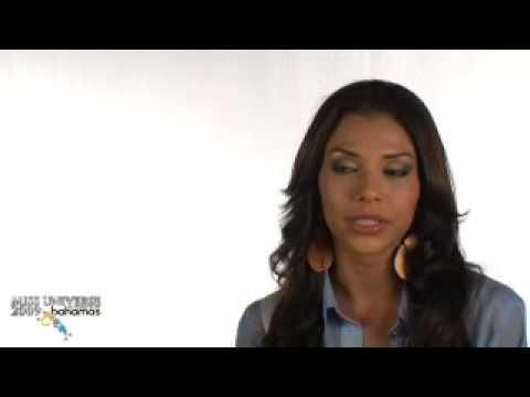 Miss Nicaragua 2009 Indiana Sanchez Interview