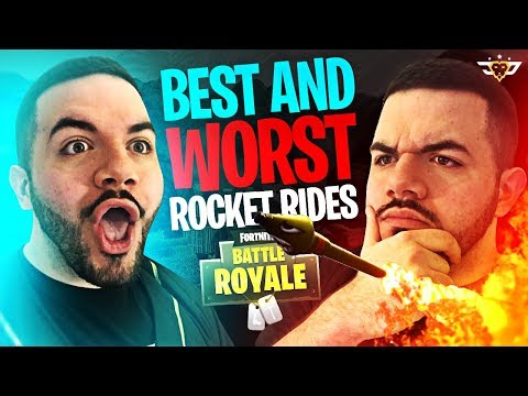 BEST AND WORST ROCKET RIDES!!! - Stream Highlights - Part 60! (Fortnite: Battle Royale)