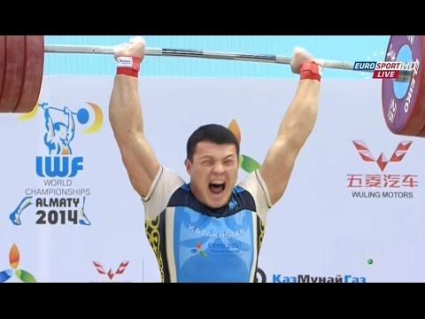 2014 World Weightlifting Championships 94 kg Men \ Чемпионат ...
