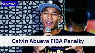 Calvin Abueva FIBA Sanction Gilas Pilipinas vs. Australia