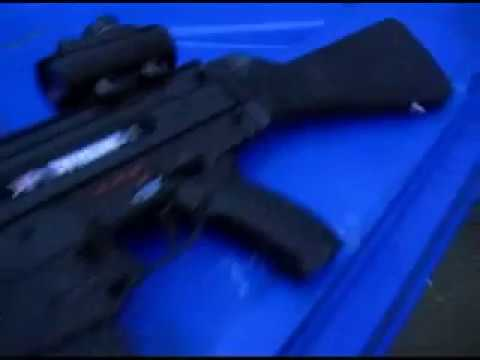 TIPPMANN X7 W/ Egrip and Air-Thru Stock review showing off my gun!