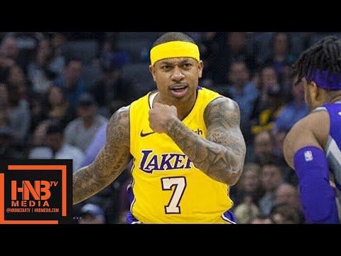 Los Angeles Lakers vs Sacramento Kings Full Game Highlights / Feb 24 / 2017-18 NBA Season