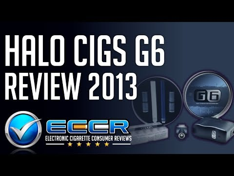 In-Depth Halo G6 E-Cigarette Review - Unbiased Electronic Cigarette Consumer Reviews