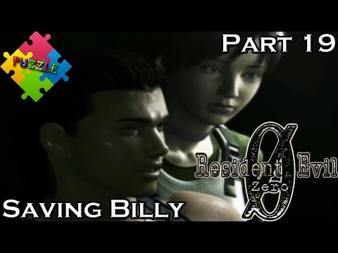 Resident Evil Zero Ø - Part 19 - PUZZLE- Saving Billy