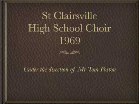 St Clairsville High School Choir.mov