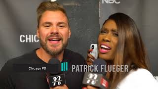 Patrick Flueger Reveals His Biggest Crush & Is Loads Of Fun On #OneChicagoDay Red Carpet
