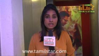 Srushti Dange At Mupparimanam Movie Team Interview