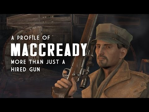 A Profile of MacCready - More Than Just a Hired Gun - Fallout 4 Lore
