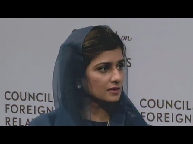 A Conversation with Hina Rabbani Khar