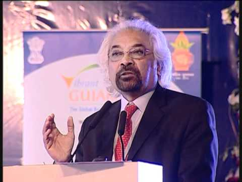 Mr. Sam Pitroda speaking at Gujarat International Finance Tec-City (GIFT)