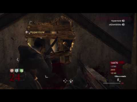 Call of Duty: World at War Nazi Zombies Der Riese 1 Hour Challenge Series Part 7