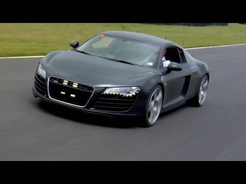 Audi R8 4.2 Supercharged, Faster than V10 FSI? On Track Test