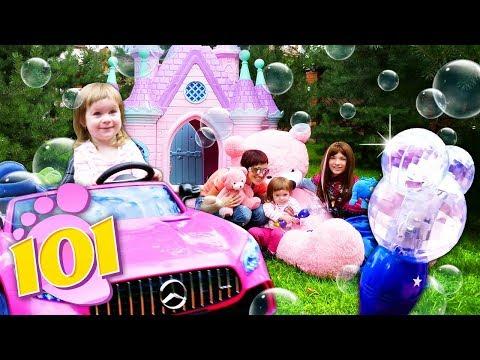 Привет, Бьянка собирает еду для мишек - Замок Принцессы и Игры для детей