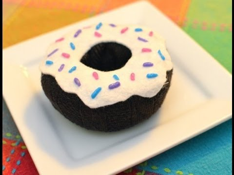 How to Make Pretend Donuts (No sew. Easy!)