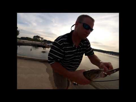 Gar and Bass fishing Lake Allatoona
