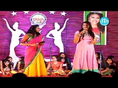 TANA International Women's Day 2014 - Songs by Geetha Madhuri and Pranavi