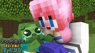 MONSTER SCHOOL : ZOMBIE BECOME BABY (CHALLENGE) - FUNNY ANIMATION