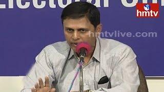 Telangana Chief Electoral Officer Rajat Kumar Speaks to Media  | hmtv