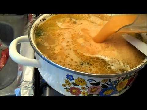 sopa de acelgas con pollo