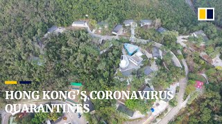 Hong Kong sets up coronavirus quarantine centres at two holiday villages