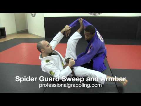 PGL Professional Grappling League - Instructional with Isaac Rivera - Spider Guard Sweep and Armbar Image 1