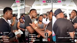 """Casanova Gets Heated Over The Bank While """"Dicing"""" On IG Live! 💸"""