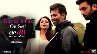 download lagu Ae Dil Hai Mushkil  Karan Johar On Set gratis