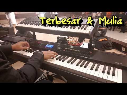 Terbesar dan Mulia (NDC Worship) - Keyboard Cam Sunday Service PPL Kopo