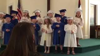 The Morgan Sophia Beach Show May 14, 2018 Preschool song