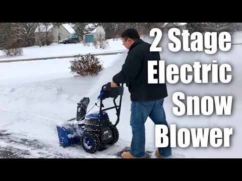 Full review of the Snow Joe iON24SB-XR 80V Max 5.0 Ah Cordless Self-Propelled Two-Stage Snow Blower