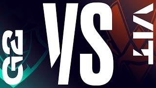 G2 vs. VIT - Week 2 Day 2 | LEC Summer Split| G2 Esports vs. Vitality (2019)