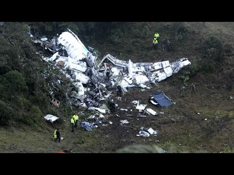 Championship Brazilian soccer team perishes in overnight plane crash HD
