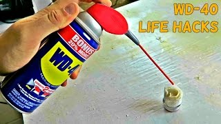 10 Simple WD 40 Life Hacks