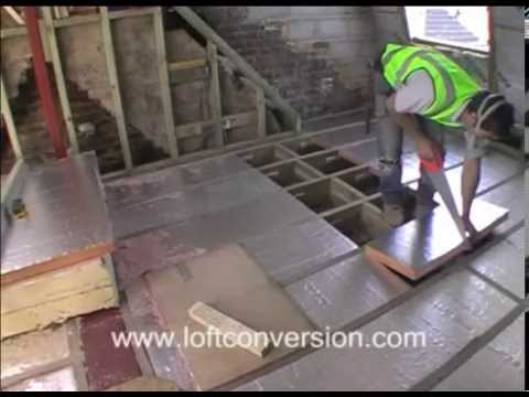 Loft conversion insulation with kingspan or celotex youtube for 100mm kingspan floor insulation