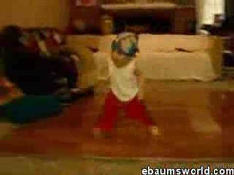 Baby break dance Video