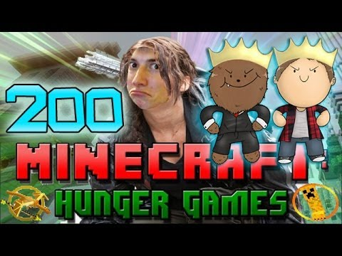 Minecraft: Hunger Games w/Mitch! Game 200 -