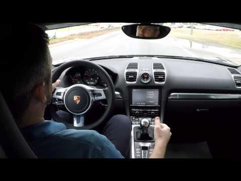 2015 Porsche Boxster Manual