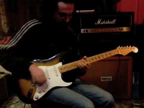 fender stratocaster 57, Marshall JCM800 2204