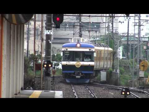 【バタデン】一畑電車「特急スーパーライナー」松江しんじ湖温泉到着