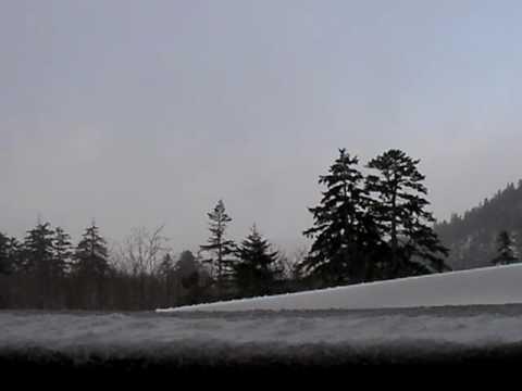 北海道 上富良野 カミホロ荘の露天風呂