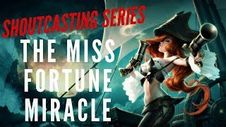 MISS FORTUNE ADC | LEAGUE OF LEGENDS GAME PLAY | FULL SHOUTCAST | TRUE NORTH KOALA