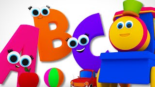 Bob The Train | Phonics Song | Learn ABC | Alphabet Song | Children's Video Bob Cartoons by Kids Tv