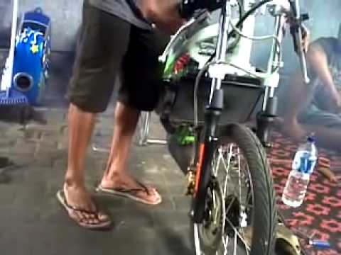 Knalpot Racing Ninja Creampie Z1 Drag Bike video