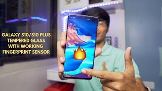 Biggest Problem of Galaxy S10 Plus Solved! UV Tempered Glass with Fingerprint Working